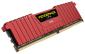 DUAL CHANNEL: 32GB (2x16GB) DDR4 DRAM Vengeance LPX DIMM 2400MHz Unbuffered 14-16-16-31 Memory Red Heat spreader 1.20V XMP 2.0