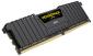 DUAL CHANNEL: 32GB (2x16GB) DDR4 DRAM Vengeance LPX DIMM 2400MHz Unbuffered 14-16-16-31 Memory Black Heat spreader 1.20V XMP 2.0