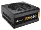 <b>PSU</b>: 650W  RM-650, 80 PLUS Gold Certified, Full Modular