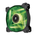 120mm Case Fan: Air Series SP120 LED Green High Static Pressure 120mm Fan