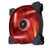 140mm Case Fan: Air Series SP140 LED Red High Static Pressure 140mm Fan